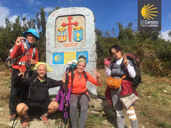 Camino de Santiago en Otoño