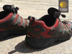 Zapatillas de camino de santiago