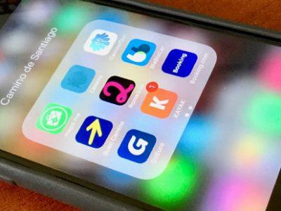 ¿Cuáles aplicaciones uso en mi móvil para El Camino de Santiago?