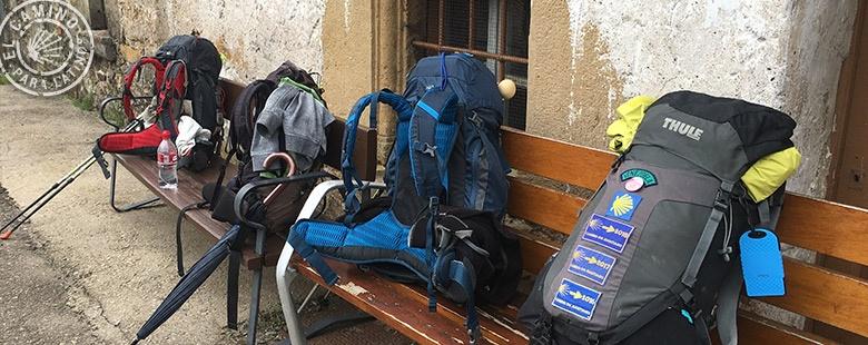 mochila camino de santiago