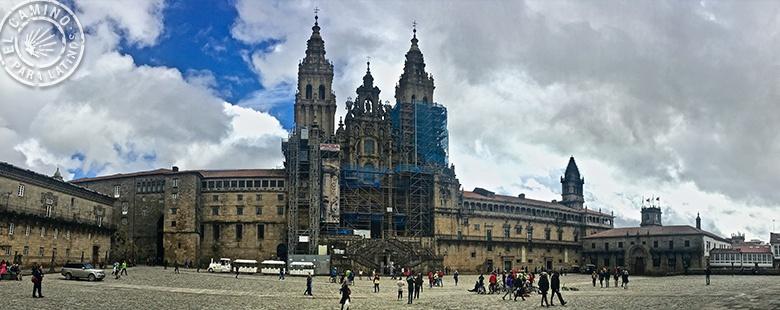 El bello rostro de la Catedral de Santiago